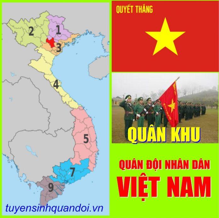 Các Quân khu quân đội nhân dân Việt nam