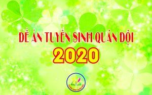 Tuyển sinh quân đội 2020