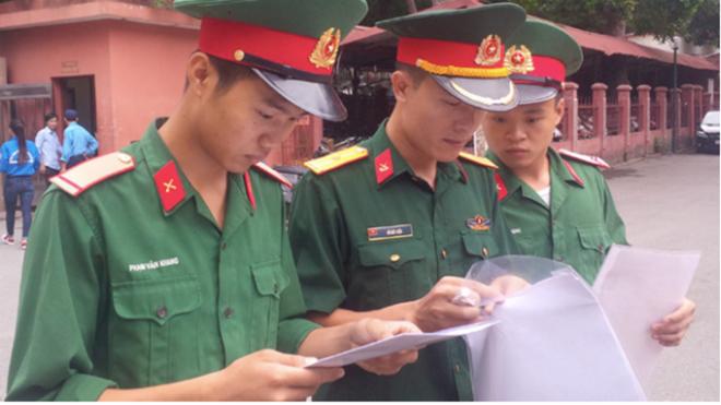 Điều chỉnh thời gian sơ tuyển quân đội năm 2020