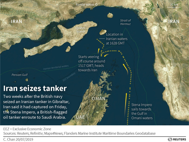 CẬP NHẬT: Iran tuyên bố tàu cá gửi tín hiệu kêu cứu khẩn cấp - Lớn chuyện - Ảnh 2.