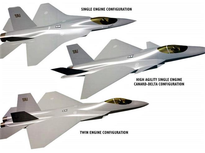 Lộ diện chiến đấu cơ thế hệ 5 TF-X của Thổ Nhĩ Kỳ - Ảnh 1.