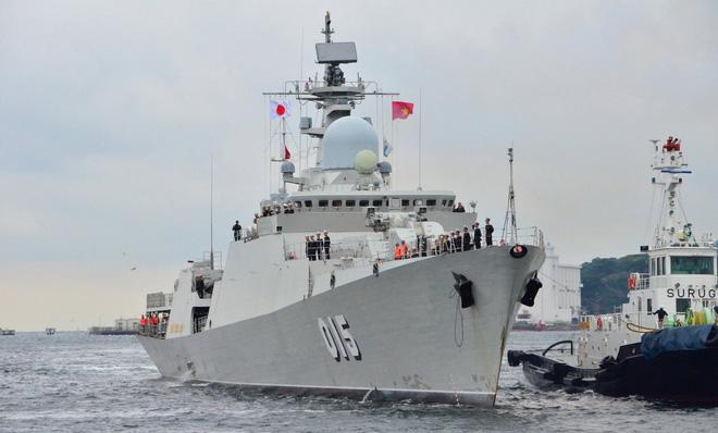 Tự hào vũ khí Việt Nam: Tàu Gepard lớn và hiện đại nhất có chuyến đi lịch sử - Kỷ lục mới - Ảnh 3.