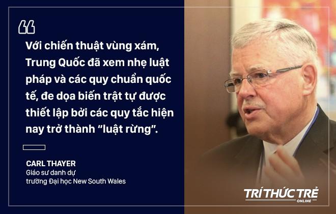 GS Carl Thayer: Vỏ bọc ngư dân trong chiến thuật vùng xám nguy hiểm của Trung Quốc trên Biển Đông - Ảnh 5.
